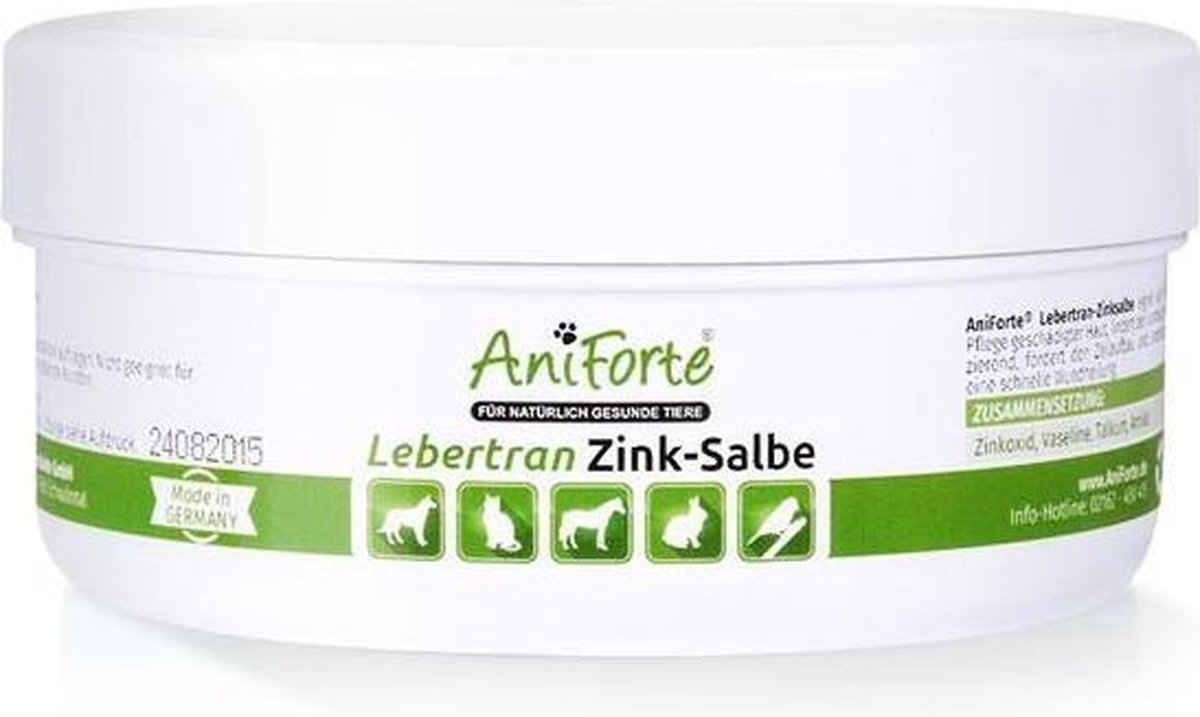 AniForte® Levertraan - Zink zalf (200ml) - AniForte®