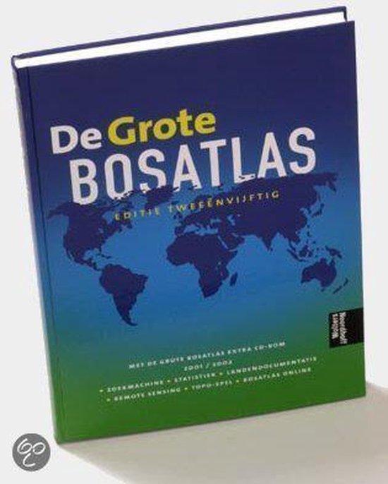 Boek cover Grote Bosatlas Editie 52 En Cd van Henk Leenaers (Hardcover)