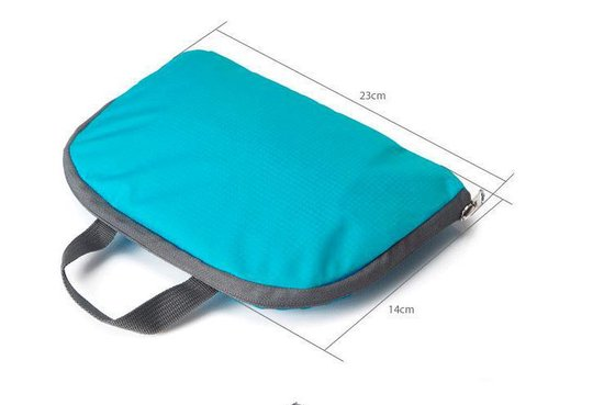 CoshX® rugtas opvouwbaar lichtgewicht grijs - Backpack lightweight foldable grey - reizen reis organizer - Merkloos