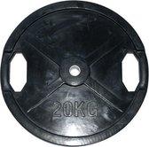 Rubberen Halterschijf Body-Trading SRP20  - 25 mm