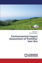 Environmental Impact Assessment of Panhihar Iron Ore