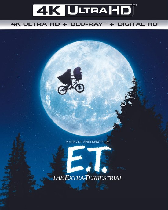 E.T.: The Extra-Terrestial (4K Ultra HD Blu-ray)