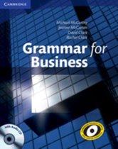 Boek cover Grammar for Business book + audio-cd van Michael J. Mccarthy (Paperback)