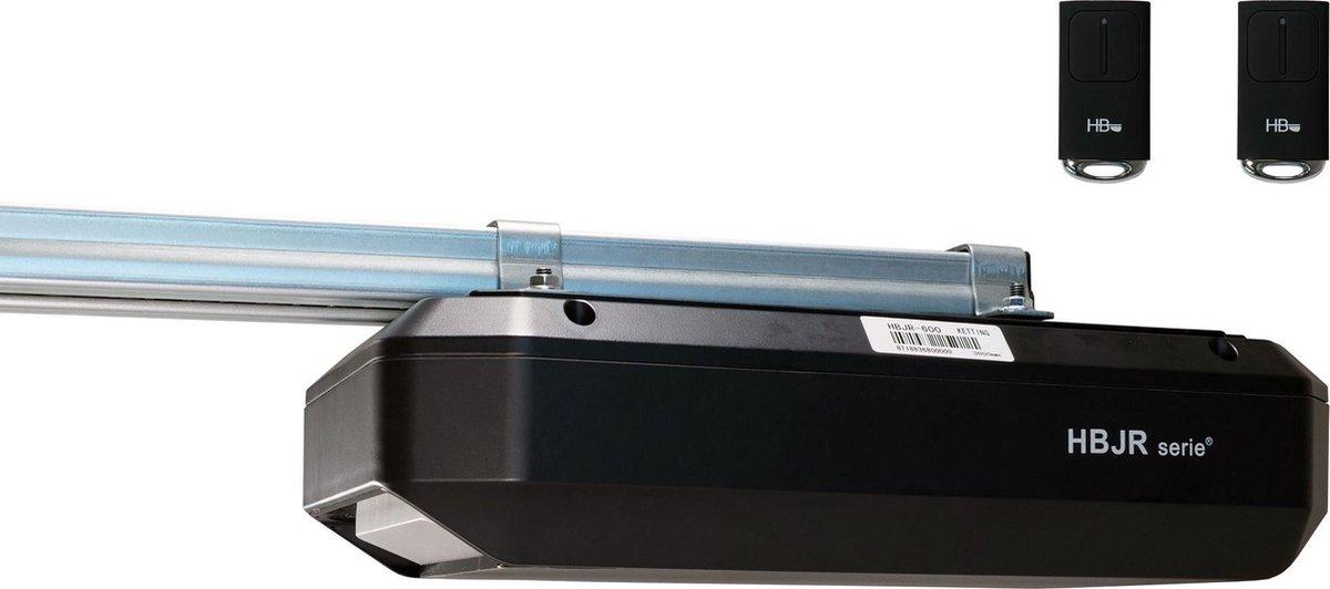 Garagedeuropener HBJR tot 8m  - Incl. 2 zenders