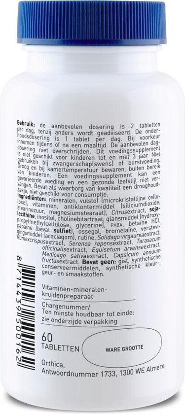 Orthica - Multi 4 All - 60 Tabletten - Multivitamine