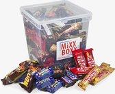 Chocolade Box met 100 chocoladereepjes van Nestlé en Mars - Lion, Smarties, KitKat, Mars, Snickers, Twix