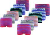 Microfiber Boxershort jongens 2001 - Jongens ondergoed - VOORDELIGE 12-PACK 134/146