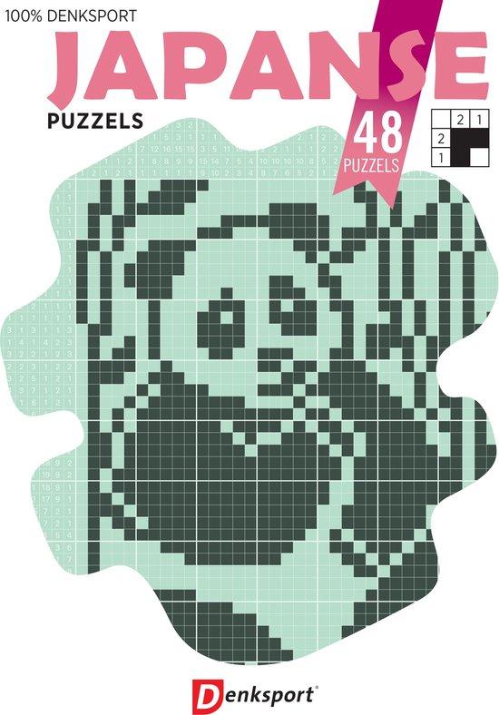 Afbeelding van Denksport puzzelboek Japanse puzzels