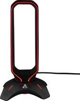 The G-Lab K-Stand RGB Gaming Stand: Universele Headset Standaard - met 2x USB Hub