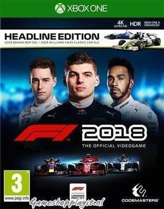 F1 2018 Headline Edition - Xbox One - Codemasters