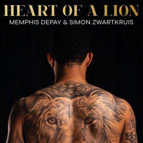Boek cover Heart of a lion van Memphis Depay (Onbekend)