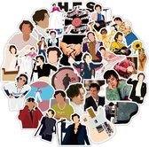 Harry Styles - Harry Styles stickers - 50 stuks - Harry Styles Merch - One Direction stickers - Stickers volwassenen - Stickers kinderen - Laptop stickers
