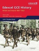 Boek cover Edexcel GCE History AS Unit 2 D1 Britain and Ireland 1867-1922 van Martin Collier