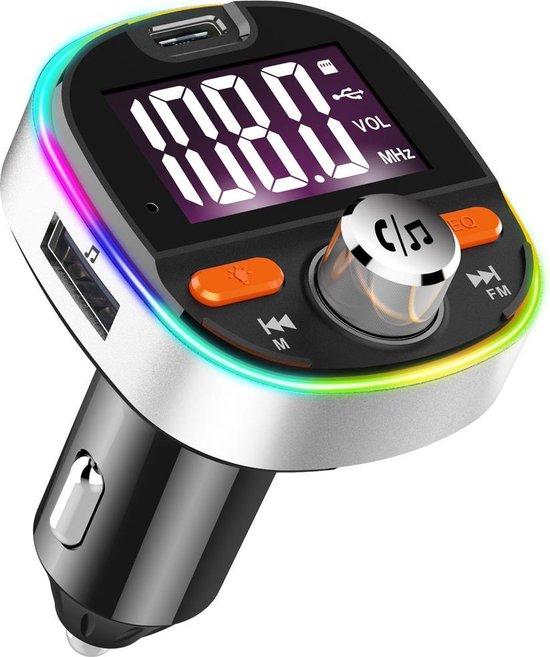 Bluetooth FM Transmitter - Carkit - Auto Lader- Handsfree bellen - MP3 - USB...