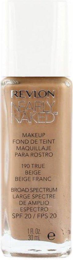 Revlon Nearly Naked Foundation – 190 True Beige