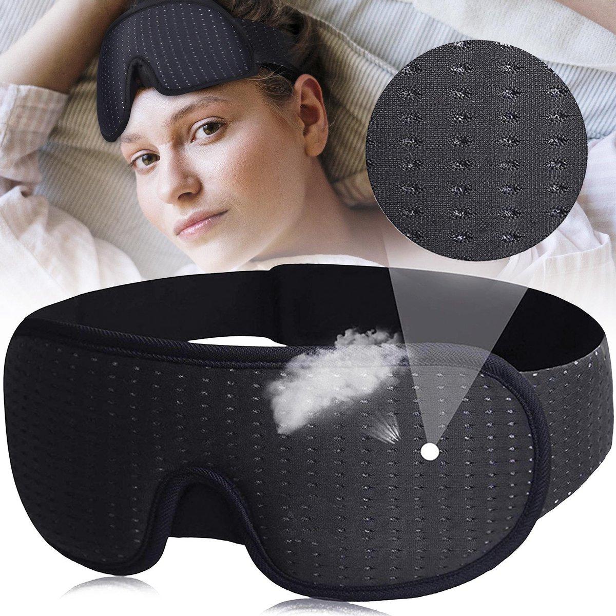 Medoes - Traagschuim Slaapmasker - 100% Verduisterend  Nachtmasker