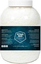 Magnesium vlokken - 4 KG VitaalBad® badkristallen badzout - meest Pure en Krachtige verkrijgbaar - voor voetbad of ligbad - 1 pot 4000 gram