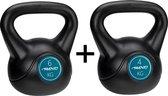 Fitness Avento Kettlebel 4 & 6 Kilo - Bundelpakket