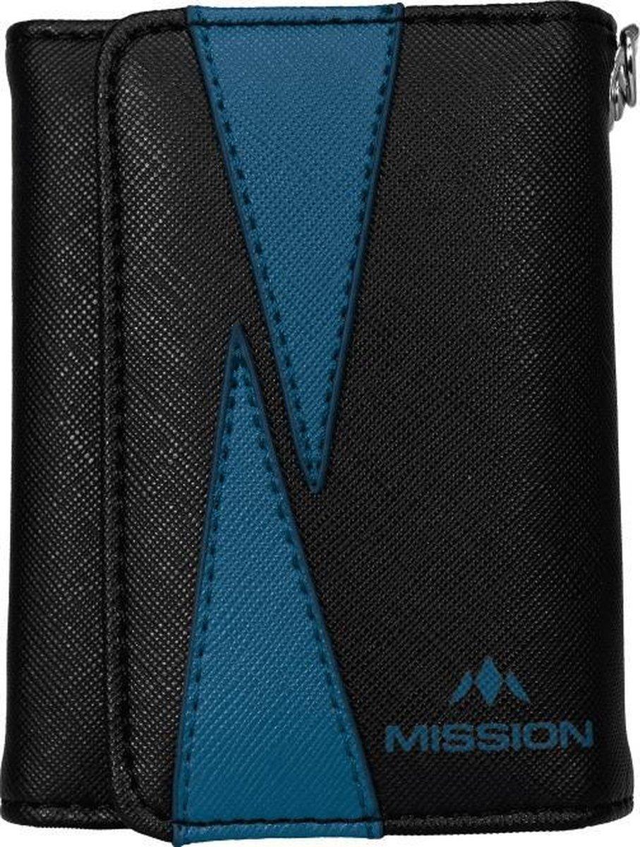 Mission Flint Darts Wallet Black / Blue