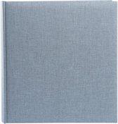 GOLDBUCH GOL-31607 fotoalbum SUMMERTIME Trend 2 staalblauw, 30 x 31 cm, 100 pagina's