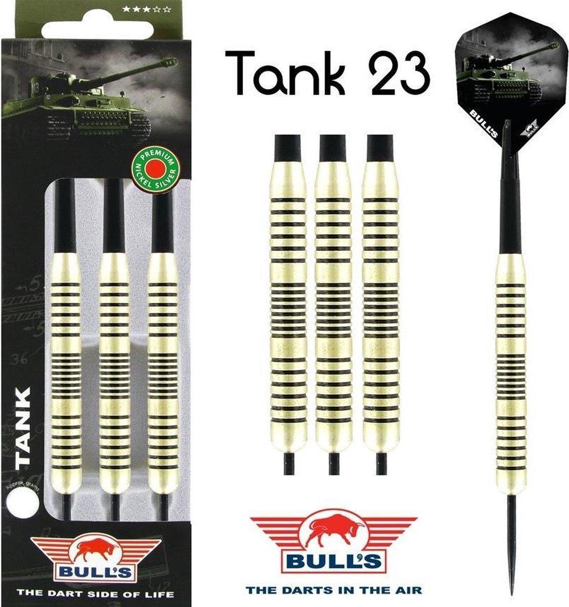 Bull's Tank Nickel Silver 23g - 23 Gram