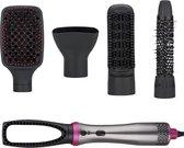 Sargon Professionele 5-in-1 Föhnborstel en Haarstijler - Haardroger Föhn met Borstel - Haarborstel Elektrisch - Multistyler Krulborstel Keramisch - Magische Stijlborstel - Magic Brush
