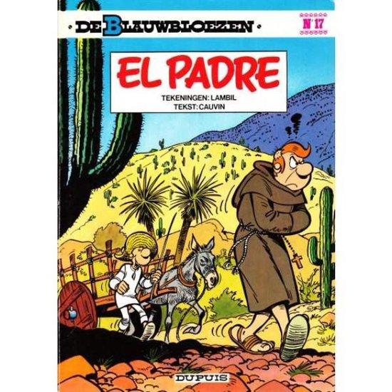 Cover van het boek 'Blauwbloezen / 17 El Padre'