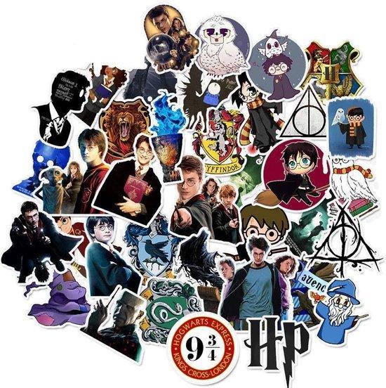 Harry Potter stickers - 50 stuks - Harry potter kleding - Harry Potter merch - Harry Potter lego - Lego Harry Potter - Harry Potter speelgoed - Harry Potter Merchandise