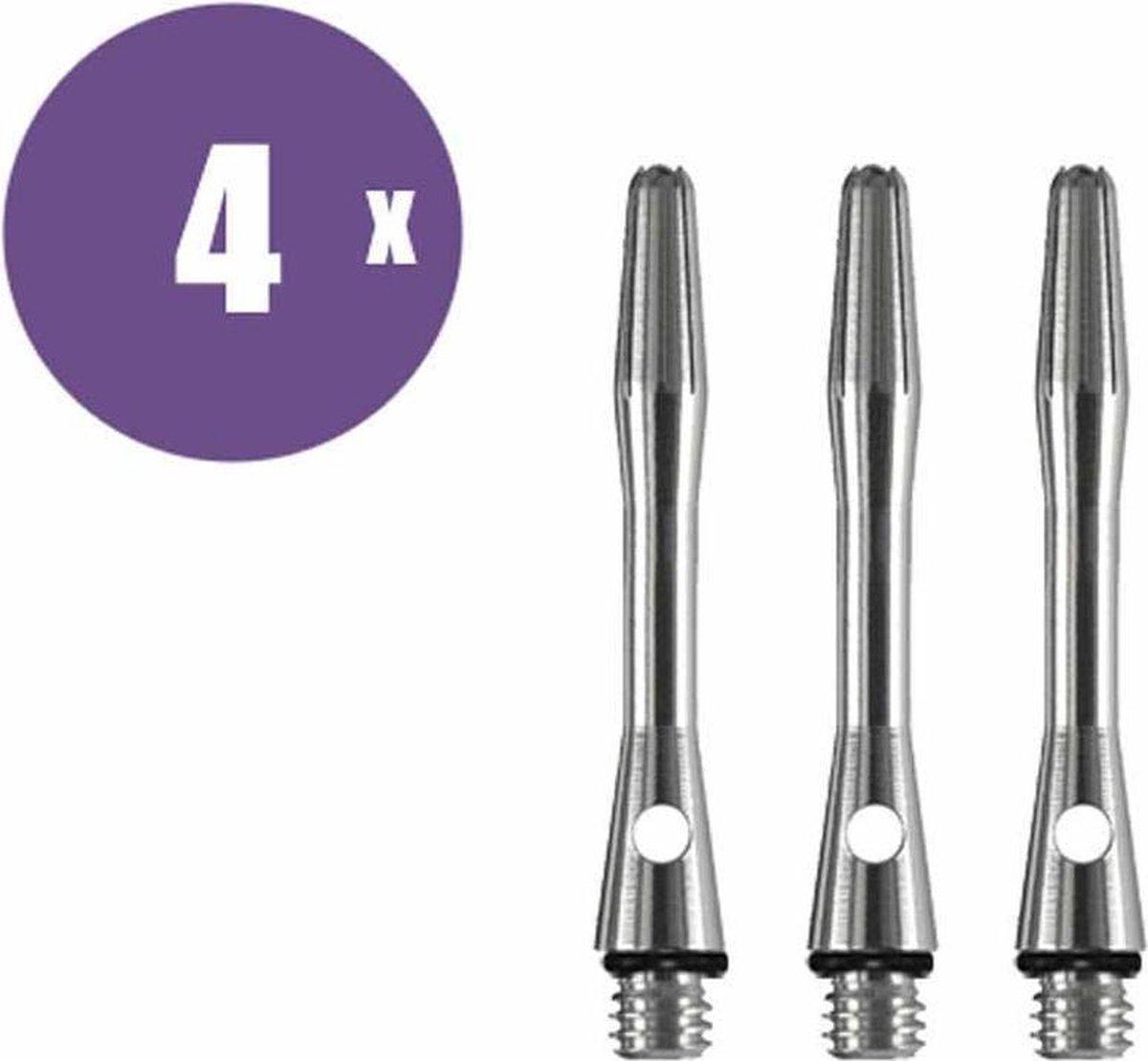 ABC Darts Shafts - Aluminium Naturel - Extra Short - 4 sets dartshafts