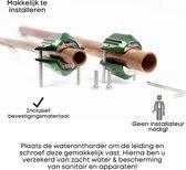 Magnetische waterontharder - waterontharder magneet - waterontkalker - waterleiding -waterverzachter - anti - kalk -7500 Gauss / 0,75 Tesla - Voor zacht water - Langere levensduur Apparaten