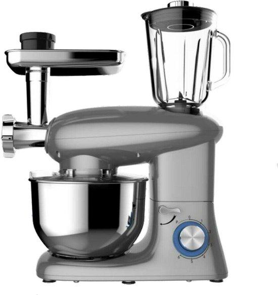 Royal Swiss Multifunctionele Keukenrobot met blender en vleesmolen (6 liter)