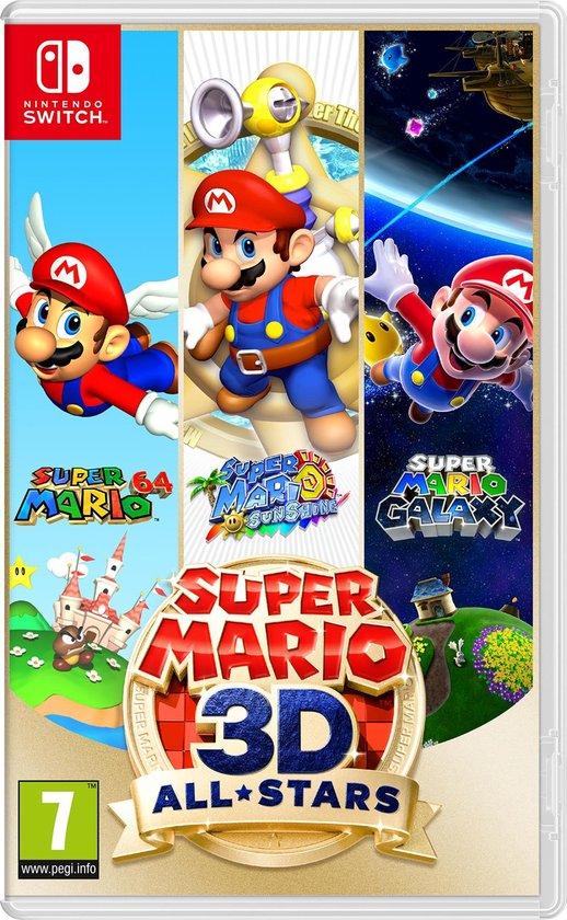 Cover van de game Nintendo Super Mario 3D All-Stars Nintendo Switch Basis Duits, Engels, Spaans, Frans, Italiaans