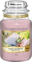 Yankee Candle Large Jar Geurkaars - Sunny Daydream