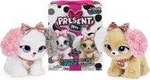 Present Pets Fancy Puppy - Interactief speelgoeddier met meer dan 100 geluiden en acties (stijl kan variëren)