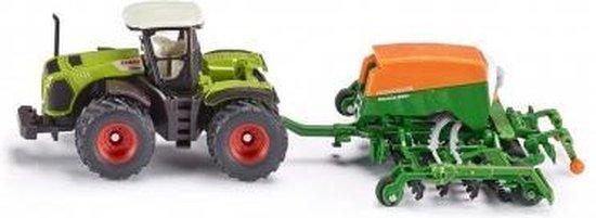 SIKU 1826 Traktor met Zaaimaschine