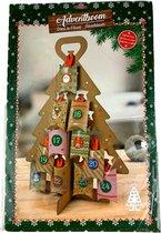 Adventskalender - Adventboom - l 34 cm x h 50 cm