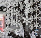 Kerstdecoratie | Kerststerren | Kerstsneeuwvlokjes | Kerstdecoratie binnen boom | 30 STUKS