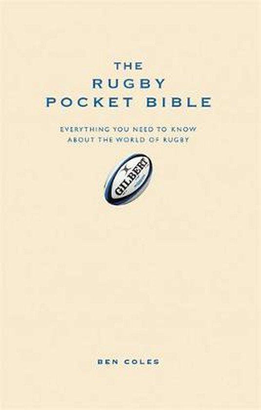 Boek cover The Rugby Pocket Bible van Ben Coles (Hardcover)