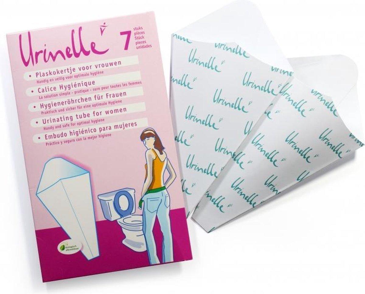 Urinelle Plaskoker - Voor Vrouwen - 7 Stuks