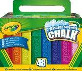 Crayola Stoepkrijt - 48 Stuks
