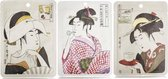 Mitomo - Ukiyoe San - Gezichtsmaskers - Face Mask - Japans - Gezichtsverzorging - Anti Rimpel Sheet Mask - Mask Skincare Rituals - Collageen - Hyaluronzuur - Q10 - Effectief tegen Acne Rimpels Plooien - Skincare Rituals - 3 stuks