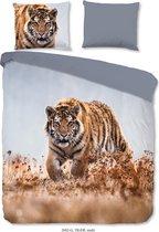Good Morning Dekbedovertrek Tiger - 240x200/220 - Tijger - Multi Kleur