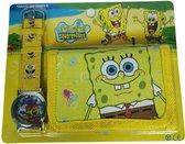 SpongeBob Portemonnee SpongeBob + horloge sneeuw
