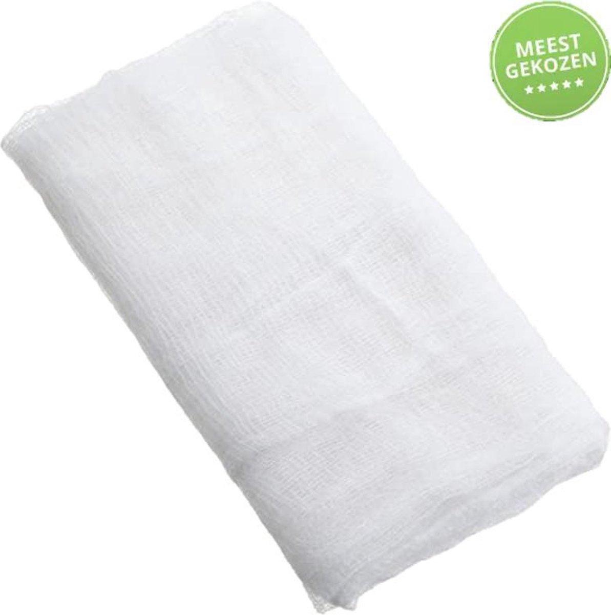 Kaasdoek - Neteldoek - Passeerdoeken - Handig in gebruik - zeefzak - keukenproduct - zeef - zeefprod