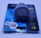 Light topps LED lamp vervanging van hallogeen MR16 fitting spots 621 lumen 9 watt kleur warm wit