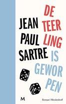 Boek cover De teerling is geworpen van Jean-Paul Sartre (Hardcover)