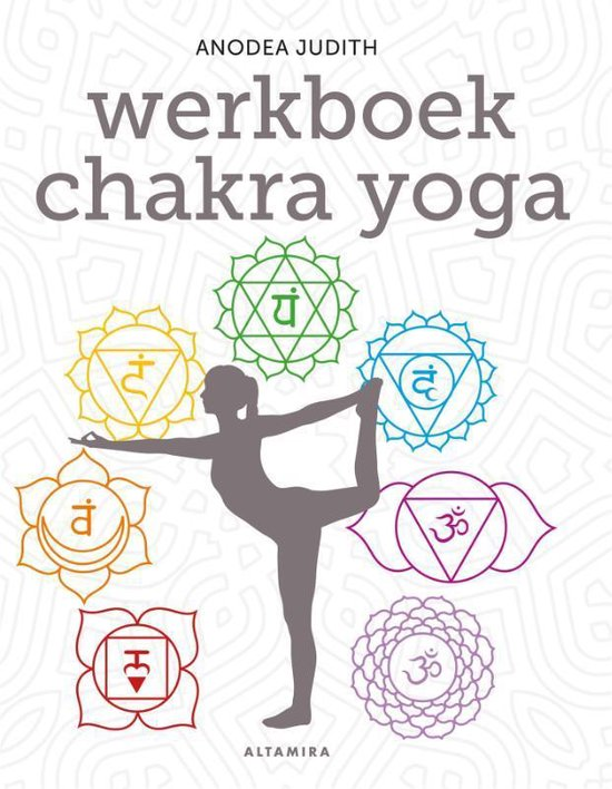Boek cover Werkboek chakra yoga van Anodea Judith (Paperback)