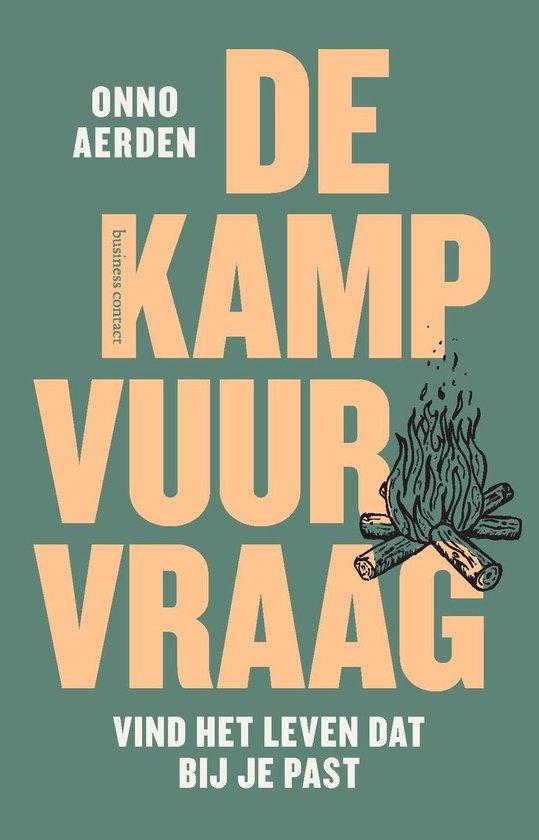 Boek cover De kampvuurvraag van Onno Aerden (Paperback)