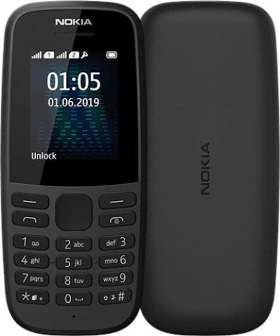 Nokia 105 Neo  - Zwart - Dual Sim - Simlock vrij - Prepaid telefoon met simkaart