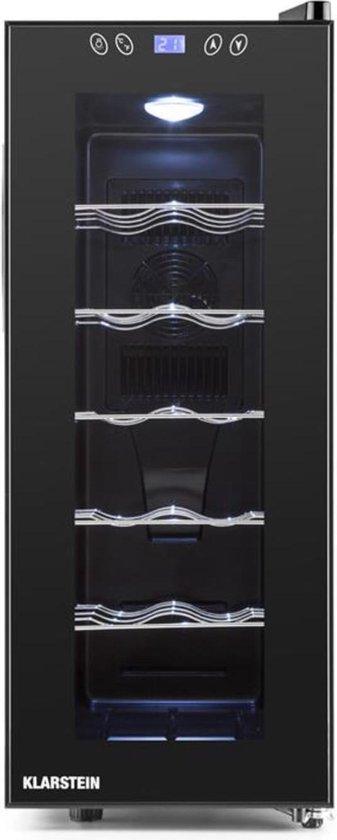 Koelkast: Klarstein Vinamora - Wijnkoelkast - 12 flessen, van het merk Klarstein